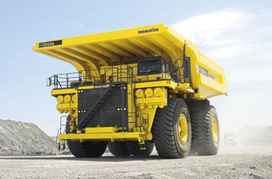 Komatsu America Corp  Announces New 960E-1 Mining Truck