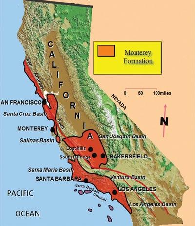 Map Of California During Gold Rush.California Map Gold