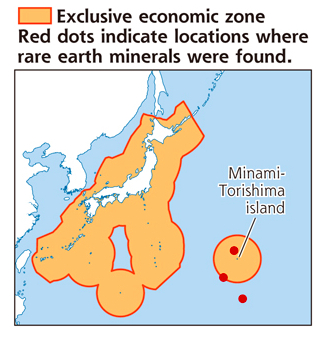 Japan's massive rare earth discovery