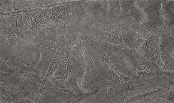 nazca lines destroyed by heavy machinery five