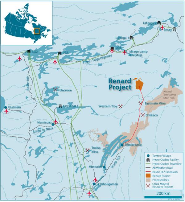 Renard Diamond Project