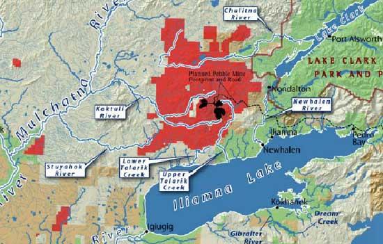 Anglo American abandons Alaskan copper project Pebble