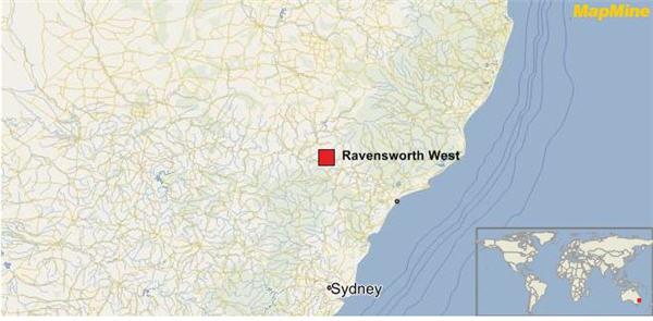 ravensworth open pit