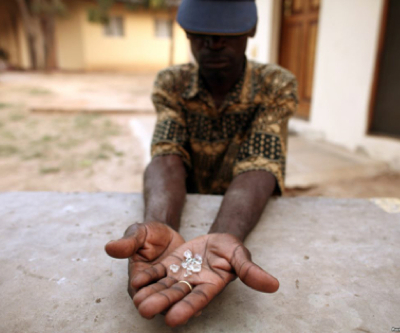 Massive diamond fields discovered in Zimbabwe to save the country's industry