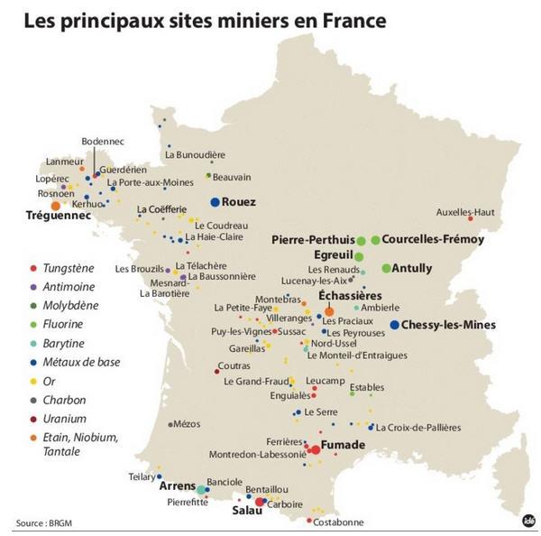 France sets up national mining company