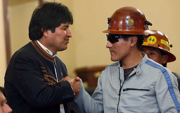 Bolivia to revise new mining law