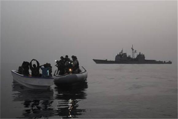 Maritime piracy shifts to Atlantic, Southeast Asia