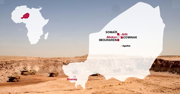 Areva reaches uranium mining deal with Niger, delays project