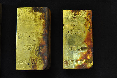 Shipwreck hunter recovers first gold from what could be $80m find