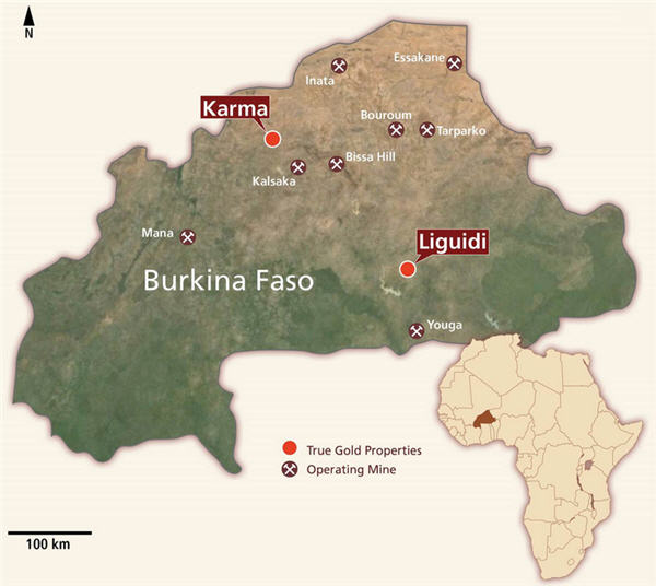 TrueGold surges after extending Burkina Faso find