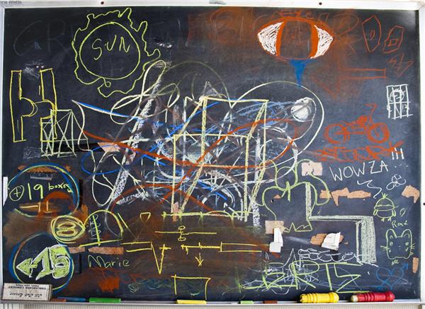 chalk board rick mills