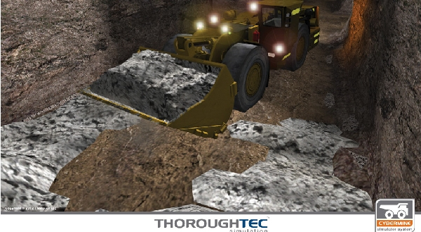Goldcorp's Red Lake Mine Recognises Training Simulation