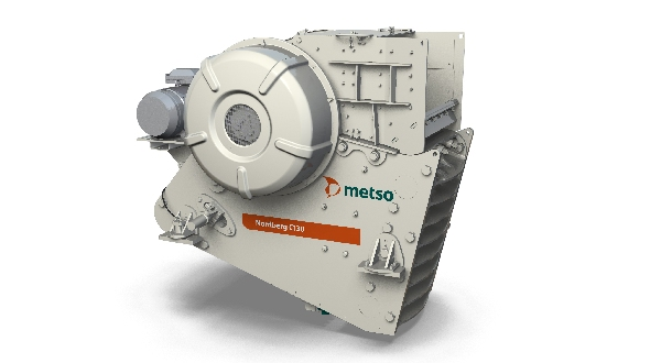Metso's new Nordberg C130 jaw crusher offers a 20% increase
