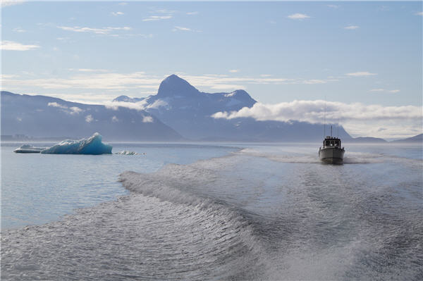 Greenland explorer tearing it up after assays