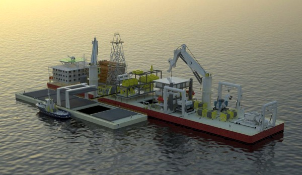 Deep-sea miner Nautilus to charter ship as floating base