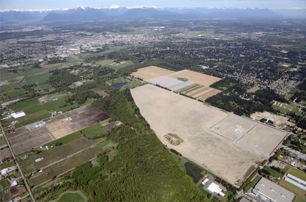 Campbell Heights North business park, Surrey weir canada
