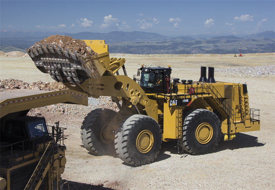 New Cat 994K wheel loader features increased payload, power