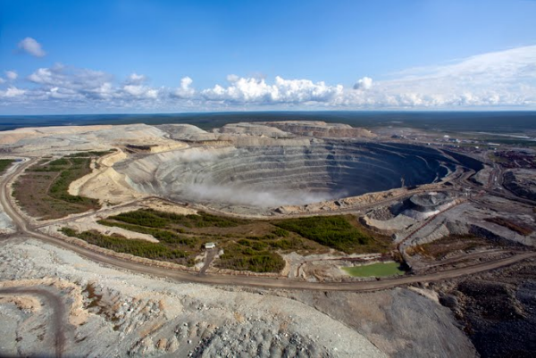 Udachnaya diamond mine, Russia Source ALROSA