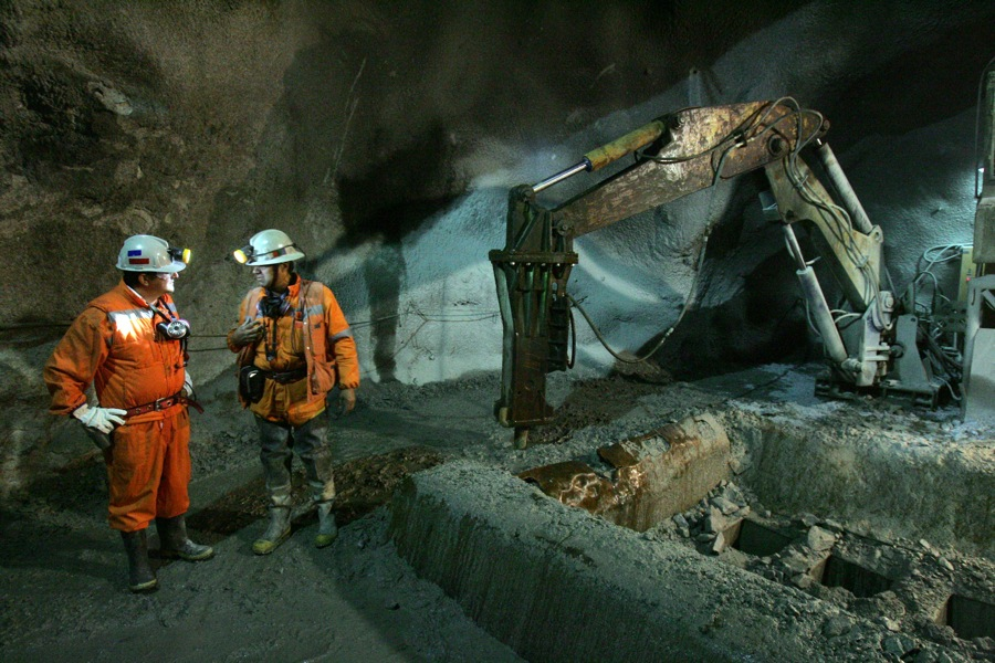 This is what the world's largest underground mine looks like