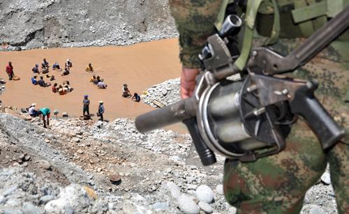 Major blow to illegal mining in Colombia's Amazon: 59 arrested