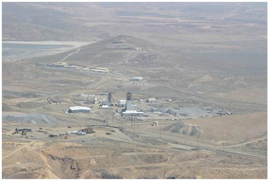 BarrickNewmont JV's Turquoise Ridge underground gold mine complex
