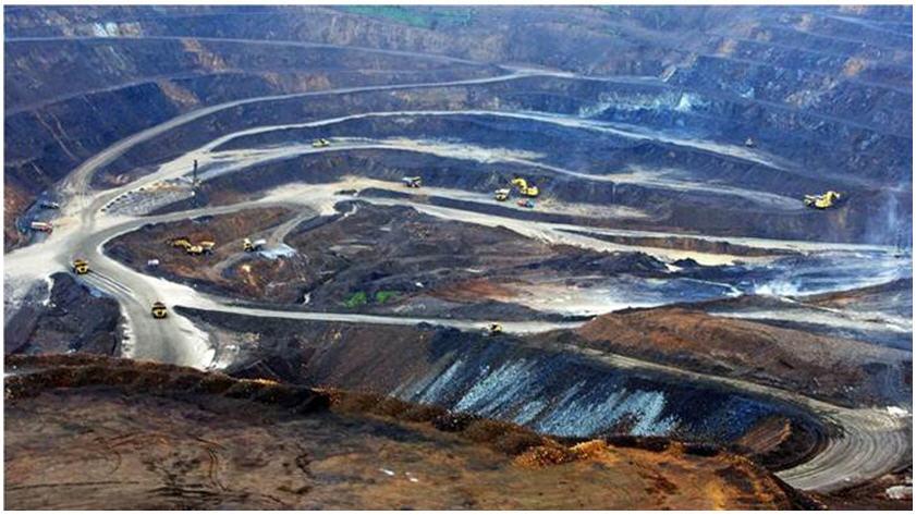 Polymetal's Albazino open-pit mine