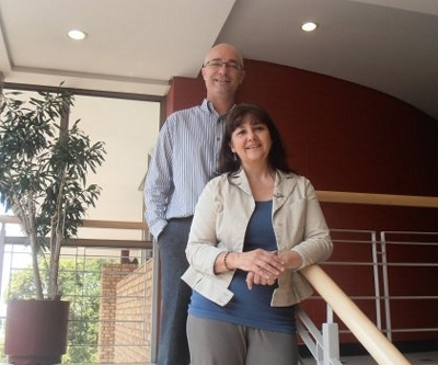 Darryll Kilian partner and Lysette Rothmann-Guest senior stakeholder engagement specialist of SRK Consulting (SA)