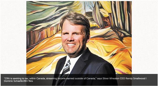 CRA targeting mining-sector tax havens - Randy Smallwood