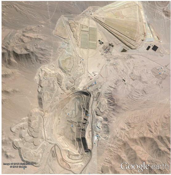 Radomiro Tomic copper mine