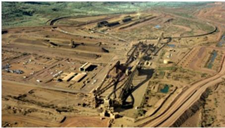 Area C mine - photo
