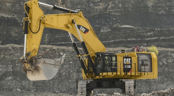 New Cat 174 6015b Hydraulic Shovel Moves More Material At