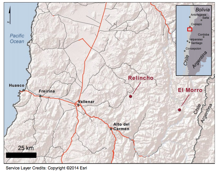 Goldcorp, Teck finish projects blend, create new $3.5 billion mine in Chile