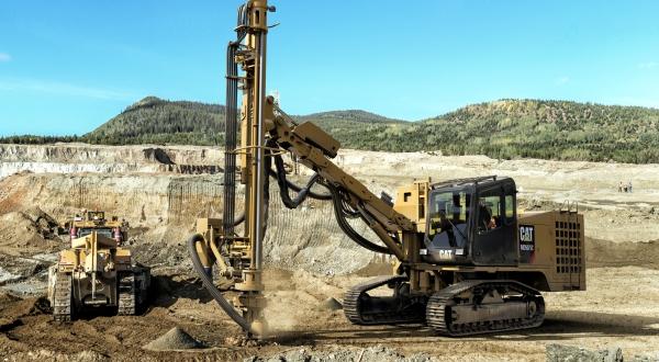 Cat MD5057C Track Drill