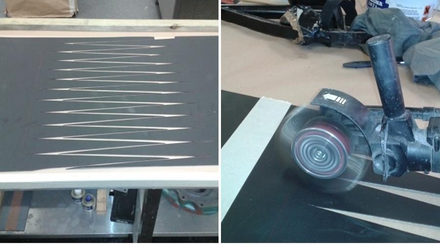 Split Belt / Preparation of Belt