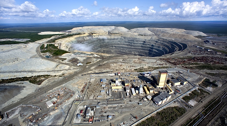 Russia's Alrosa quarterly sales up 45%