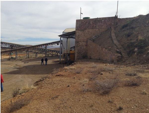 Canarc Resource Corp site trip - site photo