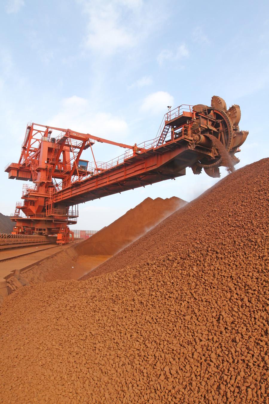 Iron ore price surges