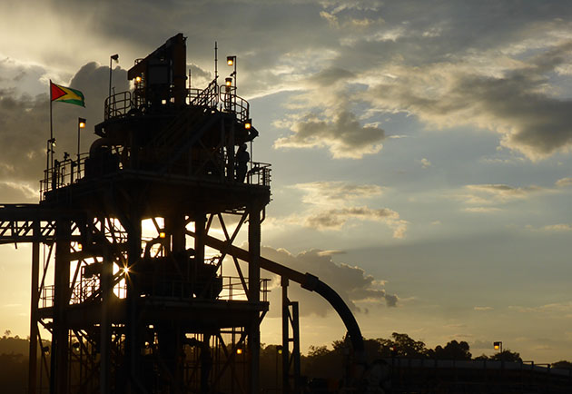 Aurora Mill, Guyana.  Photo courtesy of Guyana Goldfields.