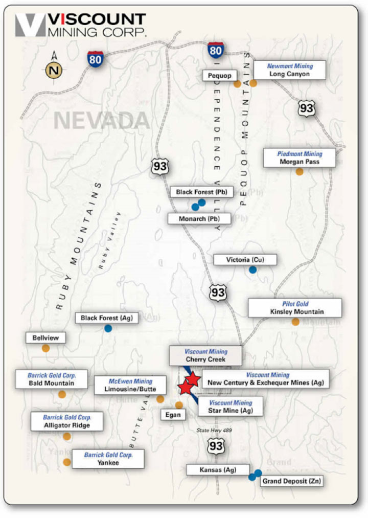 Sumitomo's quest - Viscount Mining Corp map