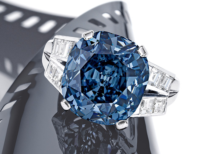 Shirley Temple's blue diamond ring could fetch $35 million