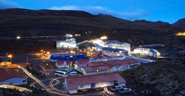 Santander Mine, mill and infrastructure, Peru