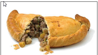 Cornish Pasty. Photo: Properpasty.co.uk