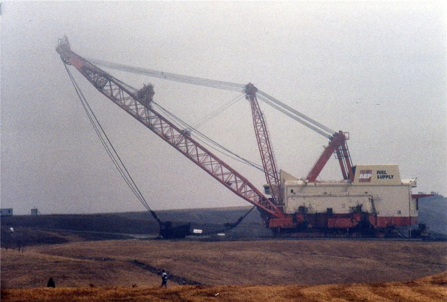 How big is big - Dragline