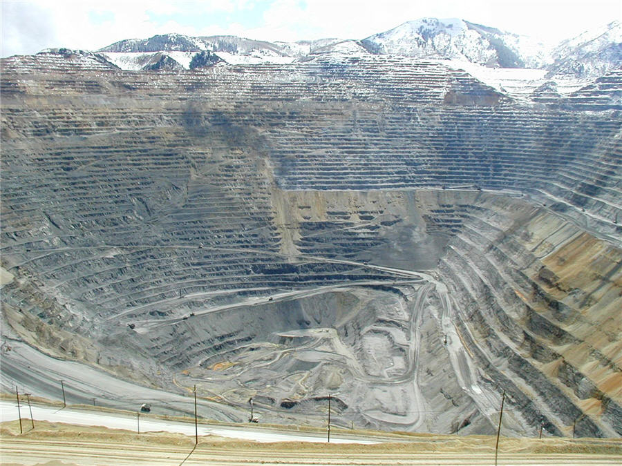 Bingham Canyon, a gargantuan mine