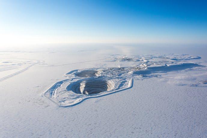 Diavik diamond mine in Canada. Source: Rio Tinto