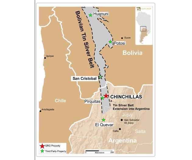 Golden Arrow Chinchillas Map