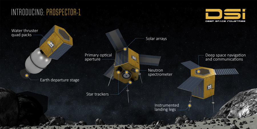 Asteroid miner Deep Space to launch first commercial mission by 2020