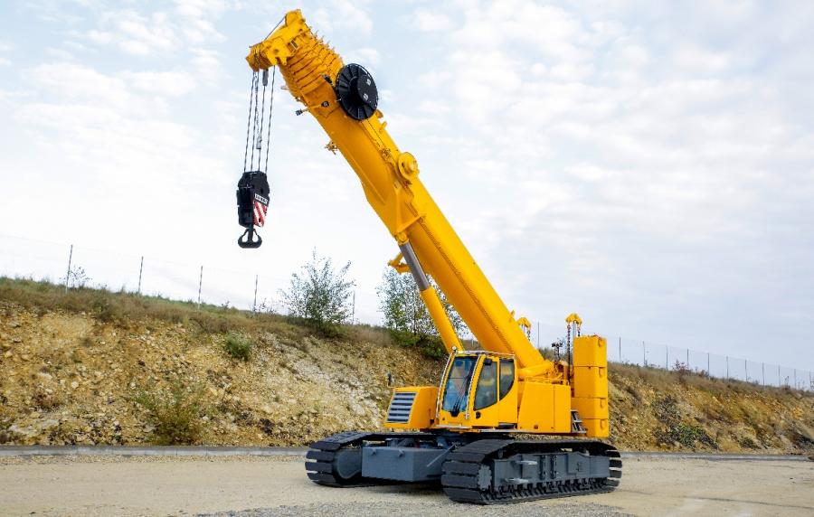 Liebherr presents a 100-tonne telescopic crawler crane at