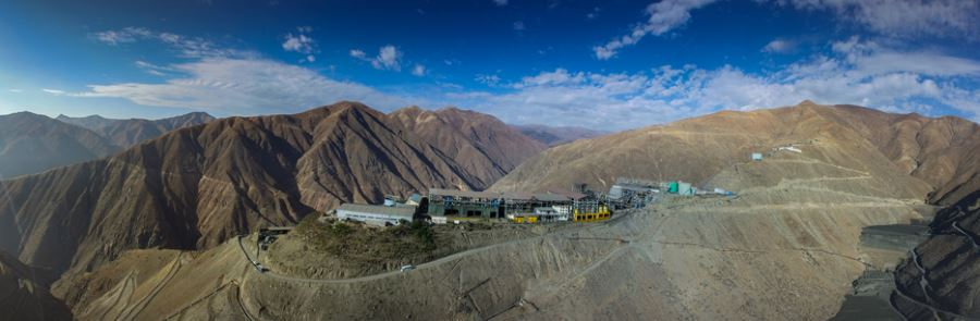 Cerro Lindo mine, Peru. Source: www.milpo.com