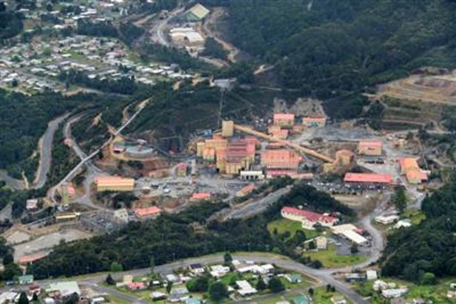 Rosebery mine, Tasmania. Source: mmg.com